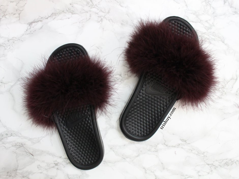 6d52074a0d303 DIY Nike Fluffy Faux Slides – Trish Uy